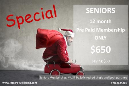 seniors membership
